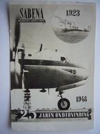 Avion / Airplane /  SABENA / Douglas DC-6 / Airline Issue - 1946-....: Modern Tijdperk