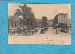 Nice. - La Place De La Gare. - Nizza