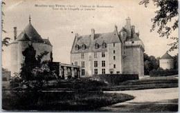 18 MOULIN SUR YEVRES - Château De Maubranches [REF/S010832] - France