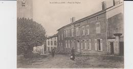 MEUSE - ST AUBIN Sur AIRE - Place De L'Eglise  ( - Petite Animation - écrite En 1917 ) - Autres Communes