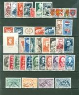 France  Année Complète 1949  Ob  TB - France
