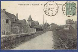 CPA ESSONNE (91) - VERRIERES-LE-BUISSON - LE PARC - ALLEE DE CHARTES - Verrieres Le Buisson