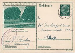 ALLEMAGNE 1934    ENTIER POSTAL/GANZSACHE/POSTAL STATIONERY CARTE ILLUSTREE DE RIESENBURG - Enteros Postales