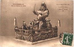 FR34 MONTPELLIER - Carnaval - 1912 - Polichinelle - Belle - Carnaval