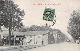 93 .n° 106756 . Pantin .autobus Pantin Opera .attelage . - Pantin