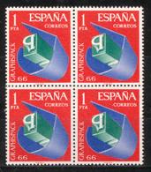 Spain 1966 - Graphispack Ed 1709 Bk - 1961-70 Nuevos & Fijasellos