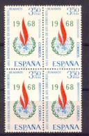Spain 1968 - Derechos Humanos Ed 1874 Bloque (**) - 1961-70 Nuevos & Fijasellos