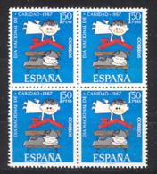 Spain 1967 - Caritas Ed 1801 Bloque (**) - 1961-70 Nuevos & Fijasellos