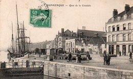 Dunkerque  Quai De La Citadelle  Animée Circulé En 1911 - Dunkerque