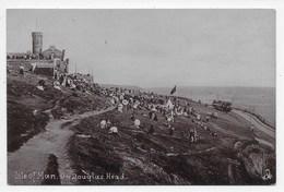 Isle Of Man. On Douglas Head - Tuck Silverette 1734 - Isle Of Man