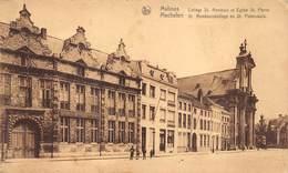 Malines Mechelen  St Rombouts College En St Pieterskerk Kerk      M 1472 - Malines