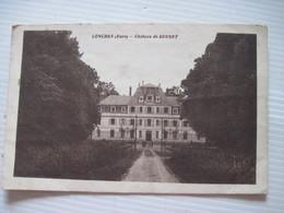 CPA 27 CONCHES Chateau De QUENET TBE - Conches-en-Ouche