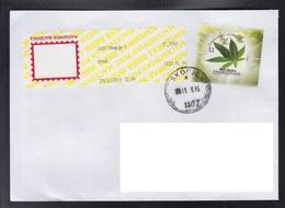 REPUBLIC OF MACEDONIA, 2017, COVER, MICHEL 812 - PLANTS-Cannabis Sativa ** - Geneeskrachtige Planten