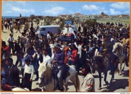 13 / SAINTES-MARIES De La MER - Pèlerinage Et Procession Des Gitans Sur La Plage (années 60) Stes - Saintes Maries De La Mer