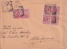 ITALIE  1910 LETTRE DE PAVULLO NEL FRIGNANO EN EXPRESS - Storia Postale