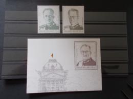 BELGIQUE -   BLOCS FEUILLETS N° 75 + Timbres De La Serie  N° 2738/39  Année 1998 Neuf XX  ( Voir Photo - Blokken 1962-....