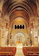 LA LOUVESC Pelerinage A ST Regis La Basilique Commencee En 1863 Autel Des Vitraux Modernes 8(scan Recto-verso) MA274 - La Louvesc