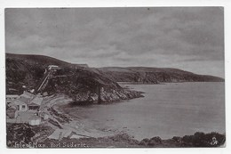 Isle Of Man. Port Soderic - Tuck Silverette 1732 - Isle Of Man