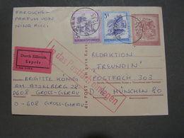 Eilboten Wien Karte 1975 - Enteros Postales