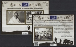 Bhutan (2019) - 2 Blocks -  /  Gandhi Anniversary - Mahatma Gandhi