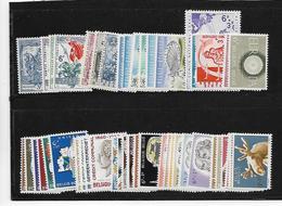 België  Volledige Reeksen  XX Postfris Cote 100 Euro - Belgien