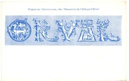 CP - Orval , Apres Les Enluminures Des Manuscrits De L'Abbaye - Belgique
