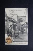 MAROC - Affranchissement De Fortune ( Demi Fiscal ) Sur Carte Postale De Marrakech  En 1918 Pour La France - L 48427 - Briefe U. Dokumente