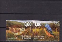 Bulgaria, 2009, Mi: 4885/86  MNH ** - Pájaros