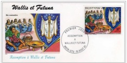 FDC Wallis Et Futuna Assomption 1991. - FDC
