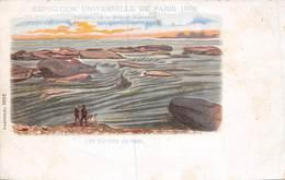 PIE-Z RO-19-3328 : EXPOSITION UNIVERSELLE DE PARIS 1900. PANORAMA DE LA MISSION MARCHAND . LES RAPIDES DU POOL. - Unclassified