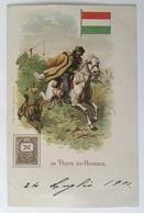 30016 La Poste En Hongrie Anno 1901 - History