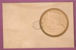 Cpa Médaillon Henri II Dit De Chelles Roi De France - éditeur Inconnu - Storia