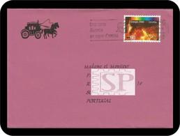 Switzerland Helvetia 1997 La Chaux-de-Fonds Energie 2000 Une Carte Illustrée En Signe D'amitié Suisse Fuego Fire Feu - Correo Postal