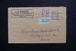 IRLANDE - Enveloppe Commerciale De Tralee Pour La France En 1945 Par Avion, Affranchissement Plaisant - L 48438 - 1937-1949 Éire