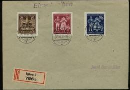 S5828 - Böhmen Und Mähren FDC: Gebraucht Iglau - Mindelheim 15.3.1944 - Besetzungen 1938-45