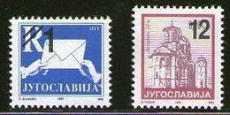 Serbia And Montenegro (Yugoslavia) 2003 Definitive, MNH (**) Michel 3131-3132 - Ungebraucht
