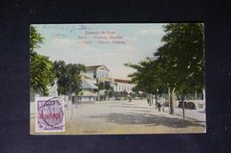 CRÊTE - Affranchissement Plaisant ( Administration Grecque ) Sur Carte Postale Pour La France En 1910 - L 48443 - Kreta
