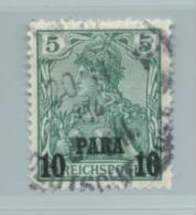 Deutsche Post Türkei Nr. 12 II Gestempelt. - Offices: Turkish Empire