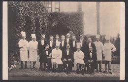 CPA  Suisse, LOCARNO, Personnel Du Restaurant / Hotel - Chefs Et Waiters, Carte Photo -  Fratelli Buchi, 1927 - TI Tessin