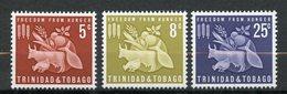 Trinité Et Tobago, Yvert 197/199**, Scott 110/112**, SG 305/307**, MNH - Trinité & Tobago (1962-...)