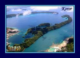 Palau Koror Aerial View New Postcard - Palau