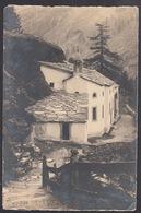 CPA  Suisse,  SAAS FEE, Kapelle Zur Bohen Steige, Carte Photo, 1932. - VS Valais