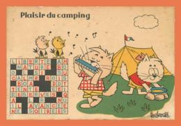 A620 / 045  BARBEROUSSE Plaisir Du Camping - Illustrators & Photographers