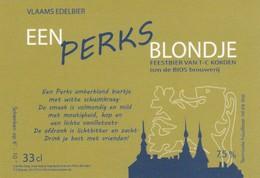 Etiket      Bios - Bière