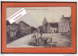 Carte Postale 21. Bourberain  Place Et Mairie Trés Beau Plan - Other Municipalities