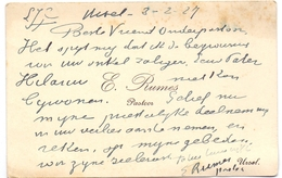 Visitekaartje - Carte Visite - Pastoor E. Rumes - Ursel - Cartes De Visite