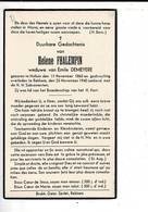DP 8602 - HELENE FHALEMPIN - HALLUIN 1856 + REKKEM 1940 - Images Religieuses