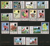 Trinité Et Tobago, Yvert 231/246**, Scott 144/159**, SG 339/354**, MNH - Trinité & Tobago (1962-...)