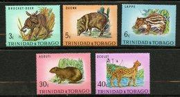 Trinité Et Tobago, Yvert 285/289**, Scott 196/200**, SG 392/396**, MNH - Trinité & Tobago (1962-...)