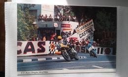 Ancienne Carte Postale TT Ile De Man Isle Of Man Races - Motorbikes